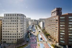 渡辺通り(提供:福岡市)