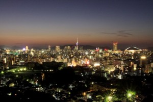 福岡市夜景(提供:福岡市)