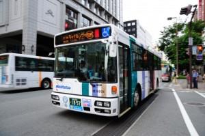 西鉄バス(提供:福岡市)